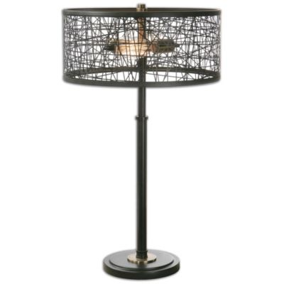 Uttermost Alita Black Table Lamp