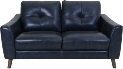 Violino Ltd 32566 Collection 100% Leather Loveseat
