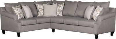 Washington Furniture Bay Ridge Gray 2-Piece Sectional