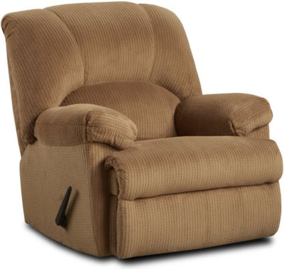 Washington Furniture Feel Good Camel Rocker Recliner