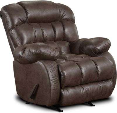 Washington Furniture Nevada Chocolate Rocker Recliner