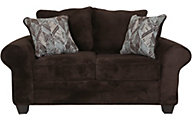 Washington Furniture Artesia Chocolate Loveseat