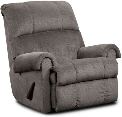 Washington Furniture Kelly Gray Rocker Recliner