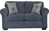 Washington Furniture Slate Blue Loveseat