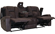 Washington Furniture Jantzen Reclining Sofa with Drop Down Table