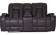 Washington Furniture Jantzen Reclining Console Loveseat