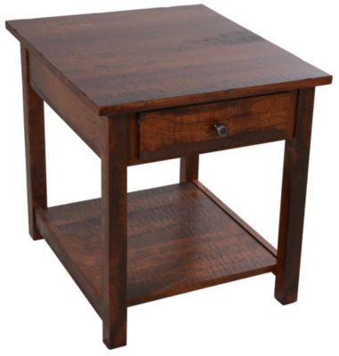 Woodco Cherry Loft Solid Oak End Table