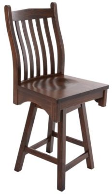 Woodco Lincoln Swivel Counter Stool