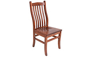 Woodco Mission Clip Corner Side Chair