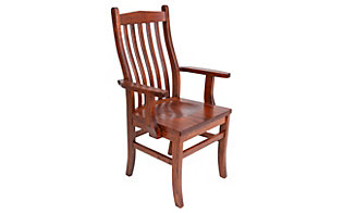 Woodco Mission Clip Corner Arm Chair