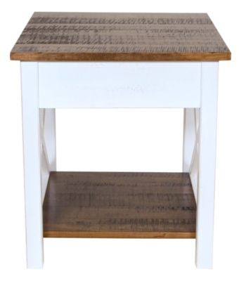 Woodco Solid Wood End Table