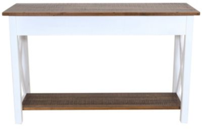 Woodco Solid Wood Sofa Table
