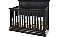 Westwood / Thomas Internationa Pine Ridge Black Convertible Crib