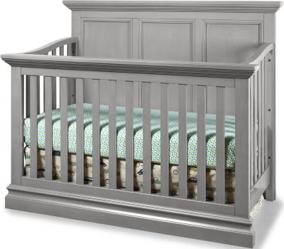 Westwood / Thomas Internationa Pine Ridge Gray Convertible Crib