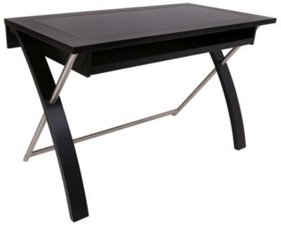 Whalen Llc Zeta Black Writing Desk
