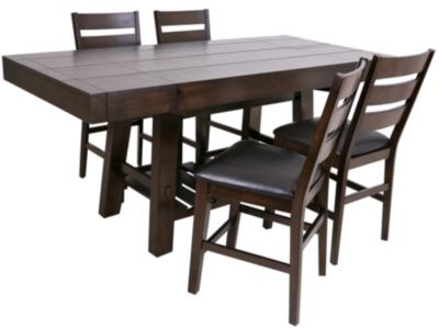 Whalen Llc Big Sky Counter Table & 4 Stools