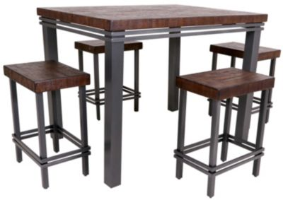 Whalen Llc Strata 5-Piece Counter Dining Set