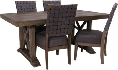 Whalen Llc Lawton 5-Piece Dining Set