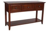 Whittier Wood McKenzie Sofa Table