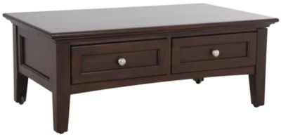 Whittier Wood McKenzie Lift-Top Coffee Table
