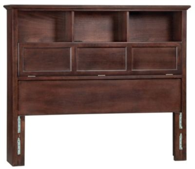 Whittier Wood McKenzie Queen Bookcase Headboard