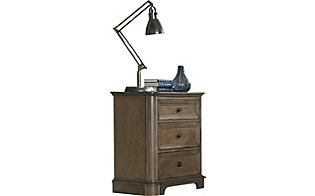 Whittier Wood Stonewood Nightstand