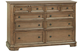 Whittier Wood Stonewood Dresser