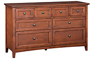 Whittier Wood McKenzie 8-Drawer Dresser