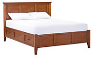 Whittier Wood McKenzie California King Storage Bed