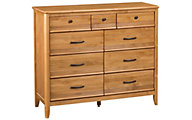 Whittier Wood Pacific 9-Drawer Dresser