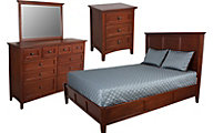 Whittier Wood McKenzie Queen Bedroom Set