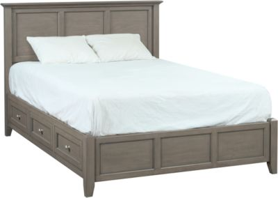 Whittier Wood McKenzie Fieldstone Queen Storage Bed