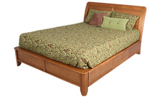 Whittier Wood Pacific King Storage Bed