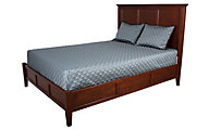 Whittier Wood McKenzie King Bed