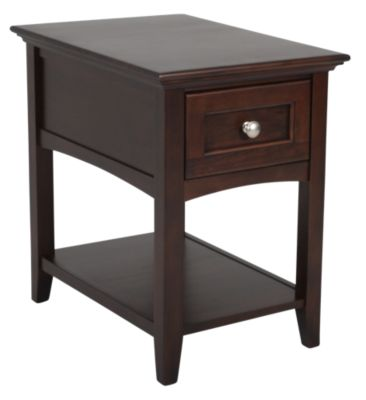 Whittier Wood McKenzie Chairside Table