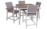 Winston Furniture Echo Outdoor 5-Piece Balcony Dining Set