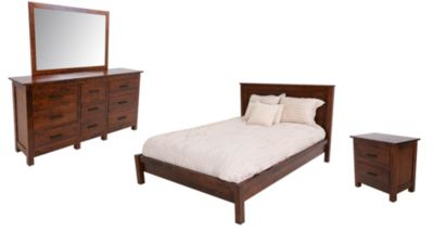 Witmer Furniture Mercer 4-Piece King Bedroom Set