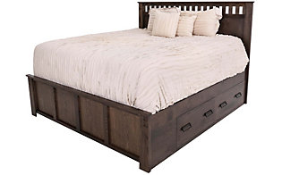 Witmer Furniture Kennan King Storage Bed