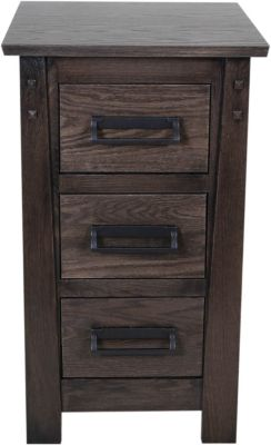 Witmer Furniture Kennan 3-Drawer Nightstand