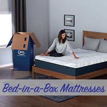 Bed-in-a-box mattresses