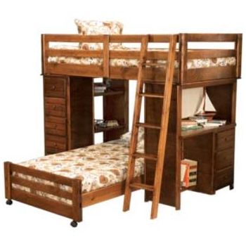 storage bunk beds and lofts