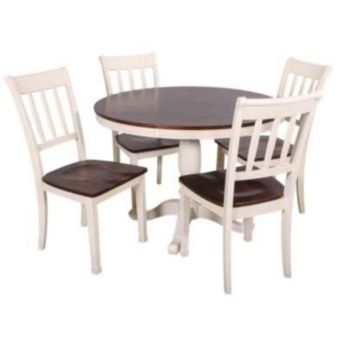 e319331e3344 5 Piece Dining Sets. Round dining table set