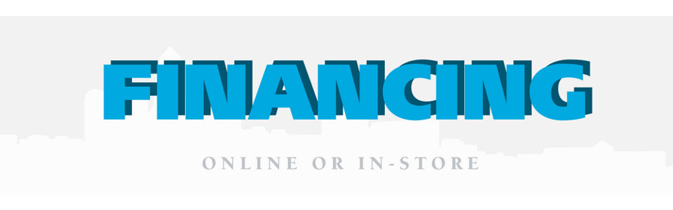 Financing & Revolving Credit Online and In-Store