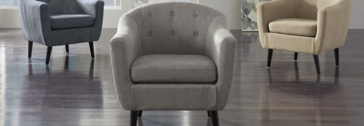 accent chairs from Homemakers