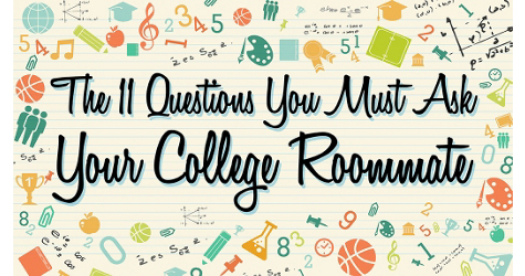 What to Ask Your College Roommate