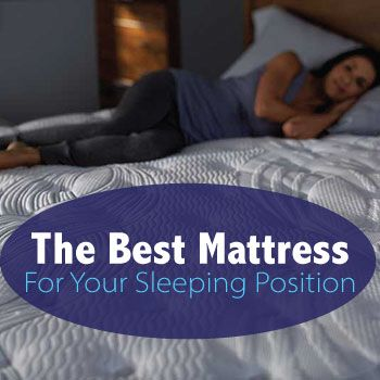 Mattresses based on sleeping position