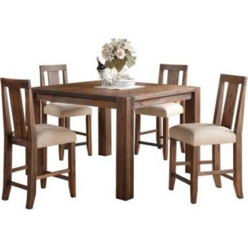 5 Piece Dining Sets Round Table Set